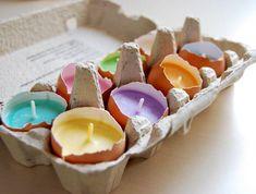 Три идеи для дома и мастер-класса с фото как сделать свечи в скорлупе своими руками. Делаем свечи в яичной, ореховой и кокосовой скорлупе легко и просто!