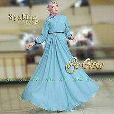 Syakira Dress by Be Glow Fabric bubblepop dgn list hitam di bagian tgn dan pinggang busui kerah daun tgn kancing lapis furing  Panjang baju 140 LD105  Retail: 265.000 Reseller 235.000 est. ready 7 nov  Dp 50% = Booking  Line @kni7746k  Wa 62896 7813 6777  #pin #syakirabybeglow #jualgamisbasicbranded #gamisbasicbranded #gamisbasiccantik #hijaberbrandedterbaru #gamishijab #gamispolosmodis #gamispolosbranded #distributorgamisbasicbranded #distributorgamishijaberbranded…