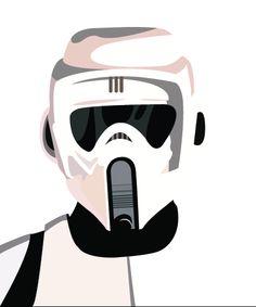 Clone Trooper Helmet Vector Ryan Crain as a Star W...