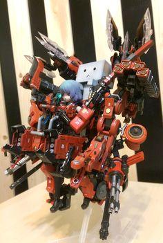 知更 Frame Arms Girl-MATERIA & DANBOARD kotobuiya http://lesupervises.blogspot.tw/