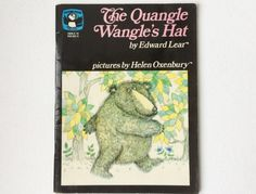 Rare Edition The Quangle Wangle's Hat by Edward Lear, Illustrated by Helen Oxenbury, Picture Puffin Book, Paperback, 1974, 00832