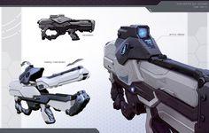 Sci Fi Machine Gun File haydons sub machine gun