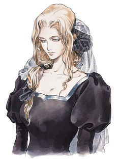 Castlevania Symphony of the Night - Lisa (Alucard Mother)