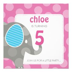 Shop BIRTHDAY PARTY INVITES :: elephant + number created by simplysweetart. Best Pictures Ever, Cool Pictures, Birthday Party Invitations, Invites, Elephant Birthday, A Little Party, White Envelopes, Smudging, Paper Texture
