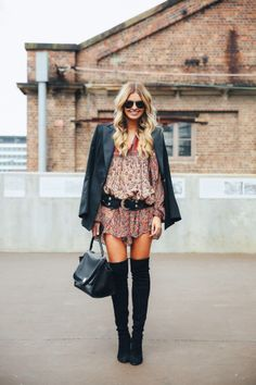 How to wear your knee high boots!