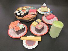 Sushi Origani「くるくる回転寿司」 No.01