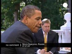 Obama & Putin Breakfast - No comment - YouTube