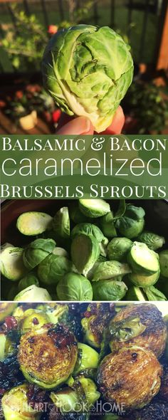 Caramelized Balsamic & Bacon Brussels Sprouts http://hearthookhome.com/caramelized-balsamic-bacon-brussels-sprouts/?utm_campaign=coschedule&utm_source=pinterest&utm_medium=Ashlea%20K%20-%20Heart%2C%20Hook%2C%20Home&utm_content=Caramelized%20Balsamic%20and%20Bacon%20Brussels%20Sprouts