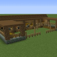 Stable - GrabCraft - Your number one source for MineCraft buildings, blueprints,. - Explore the best and the special ideas about Lego Minecraft