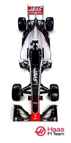 FOTOS: Así es el VF16, el primer coche de Haas F1 Team