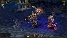 Abyss Dark Arisen 3D Free-to-play, Action Role-Playing MMO Game ARPG, playable on Browser (Browser Based)