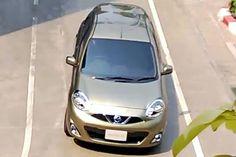 Nissan March reestilizado é flagrado  na Tailândia