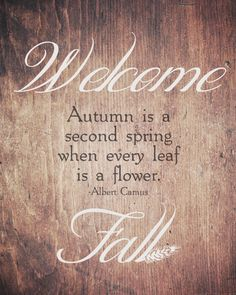 "Thoughts from Alice: ""Welcome Fall"" Rustic Wood Free Printable!"