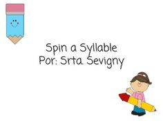 Have students enjoy syllable work while connecting to math with graphing! Students will enjoy graphing their syllables while spinning with a spinner to determine the syllable. Product contains: B,C,Ch,D,F,G,Gu,H,J,K,L,M,N,P,Q,R,S,T,V,W,X,Y,ZSoon to come, response questions to their graphs!