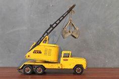 Vintage Yellow Tonka Truck