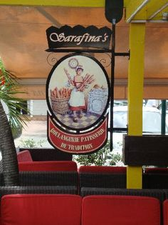 Sarafina's restaurant in Marigot, St. Martin. By far, my favorite breakfast place ever.
