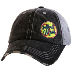 Softball MOM Trucker Hat Katydid
