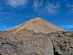 Ascenso al Teide desde el funicular. Teide