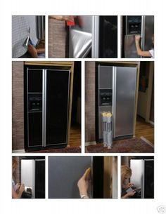 Faux Stainless Steel Film Home Depot