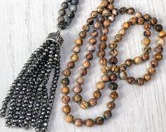 #forher#necklace#handmade#Boho#ethnic#jewlery#gifts#mala#style  Long colorful Mala necklace, long colorful Boho necklace, Long colorful tassel necklace, long silver necklace, gift for her necklace