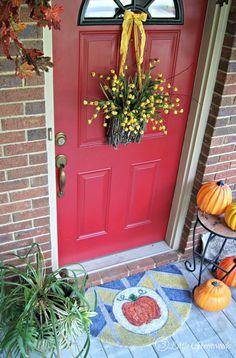 12 DIY Fall Door Dec