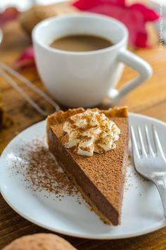 dýňovo-čokoládový koláč Tiramisu, Waffles, Sweet Tooth, French Toast, Cheesecake, Food And Drink, Pudding, Salts, Cooking