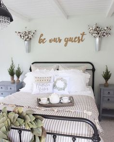 Most Beautiful Rustic Bedroom Design Ideas. You couldn't decide which one to choose between rustic bedroom designs? Are you looking for a stylish rustic bedroom design. We have put together the best rustic bedroom designs for you. Find your dream bedroom. Master Bedroom Design, Bedroom Wall, Girls Bedroom, Diy Bedroom, Bedroom Furniture, Bed Room, Bedroom Designs, Furniture Decor, Dream Bedroom