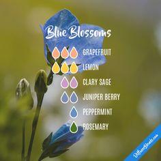 Blue Blossoms - Essential Oil Diffuser Blend