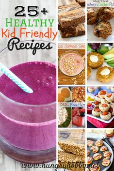 25+ Healthy Kid Friendly Recipes - all packed with healthy ingredients and kid friendly flavors! Kids can eat real food if we make it fun and delicious!