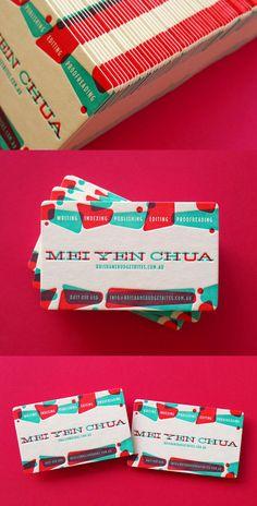 Mei Yen's Letterpress Business Cards