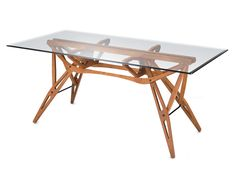 Zanotta Reale dining table by Carlo Mollino