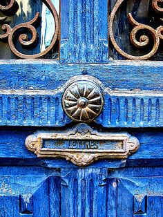 Love so much about this old door & hardware