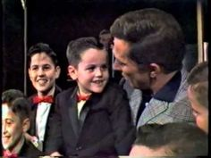 Donny's First Appearance ~  Donny's debut in 1962 on The Andy Williams Show- how could you not love him?