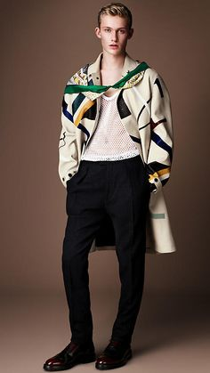 What to steal from Burberry AW14 menswear - Disney Roller Girl