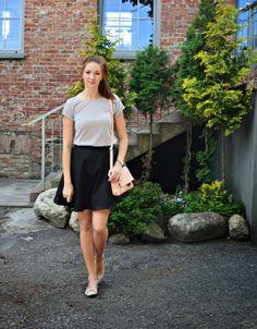 natalie's style: Rozkloszowana spódnica