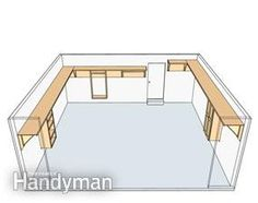 shelf plans garage