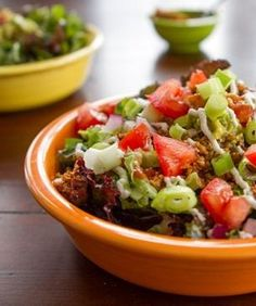 Must try this Taco Salad from sheglows.com