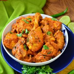 A very quick and easy dish prepared by simmering it in yoghurt and spices - mildly spiced and flavorful. A perfect main course.