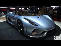 FIRST LOOK: Koenigsegg Regera Hybrid Megacar - Geneva 2015 - YouTube