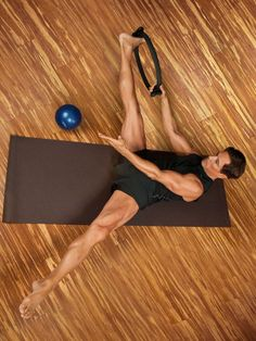 The Pilates Magic Circle Workout – these exercises help to firm and lengthen your muscles. #pilates #magiccircle #resistancering #workout #exercise #ideas