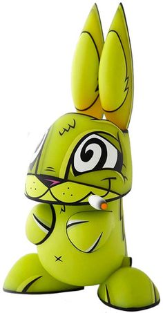 'Spaced-Out Bunny' by Joe Ledbetter and The Loyal Subjects. Minty Fresh exclusive release.