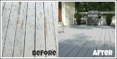 Painting a Deck  A new product by Behr  that made this project so easy!