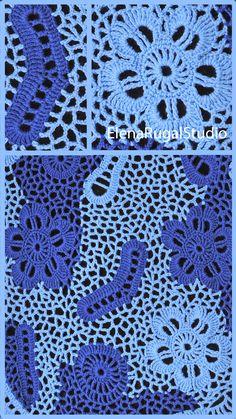 Crochet Flower Patterns, Lace Patterns, Crochet Flowers, Crochet Instructions, Irish Lace, Flower Tutorial, Irish Crochet, Flower Making, Crochet Hooks