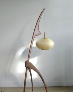 Check out this unbelievable lamp by Rispal, France on Ebay.        Wow right?  Current bid is at $910.00    On another note, I'm still waiti...