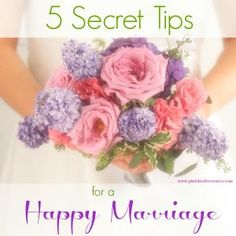 Happy marriages are attainable. It just takes work! try these five secret tips to keep your marriage happy!