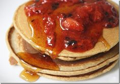 GF Pancakes with Chickpea flour. They look easy enough...