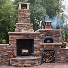 brick pizza oven outdoor This FlameCraft Wood Fire Pizza Oven is just what you need to bring your outdoor living space to life. Easy to put together parts are included to make a Brick Oven Outdoor, Outdoor Fireplace Patio, Outside Fireplace, Outdoor Fireplace Designs, Pizza Oven Outdoor, Diy Pizza Oven, Outdoor Fireplaces, Stone Pizza Oven, Wood Oven Pizza