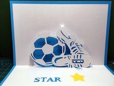 Soccer ball pop-up