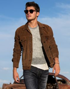 men's fashion & style - Gregg Sulkin by Justin Campbell