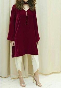 Pakistani Fashion Casual, Pakistani Wedding Outfits, Pakistani Dresses Casual, Pakistani Dress Design, Casual Dresses, Muslim Fashion, Kurta Designs, Blouse Designs, Party Wear Evening Gowns